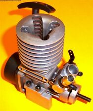 152120 1/10 Scale SMT .15 Nitro Glow Engine Silver Rotary Carb