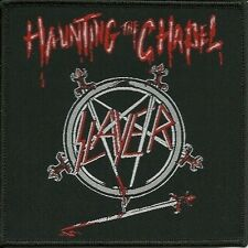 SLAYER - Patch Aufnäher - Haunting The Chapel 10x10cm