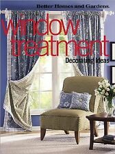 Window Treatment Decorating Ideas (Better Homes & Gardens)-ExLibrary