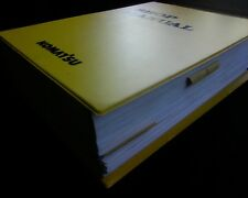 Komatsu WA380 - 5 Loader testing adjusting Workshop Repair Service manual / book