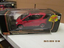 Maisto Diecast Mercedes Benz A class 1997 Special Edition 1:18 Red