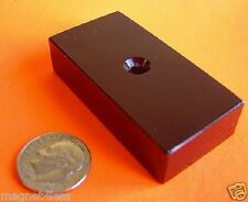 2 Strong Grade N42 2x1x1/2 Inch Epoxy Rare Earth Neodymium Magnet with #6 Hole