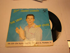Freddie Cannon Jump Over/The Urge 45 RPM Swan Records VG+