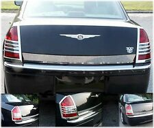 05-07 Chrysler 300 Chrome Taillight Covers Trims Bezels Rear New Free Shipping