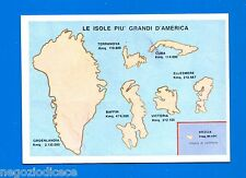LA TERRA - Panini 1966 - Figurina-Sticker n. 335 - ISOLE D'AMERICA -New