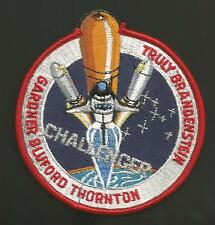 CHALLENGER STS-8 TRULY SPACE    PATCH 4  INCHES