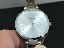 NEW OLD STOCK FOSSIL ES-3060 S/S QUARTZ WOMEN'S WATCH
