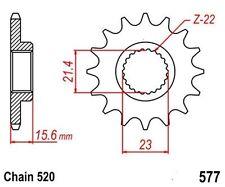 KR  Ritzel 14Z Teilung 520 YAMAHA SRX 400 95-88 New... front sprocket
