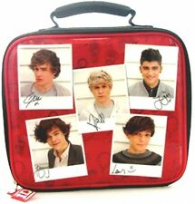 One Direction 'Polaroid' School Rectangle Lunch Bag Brand New Gift