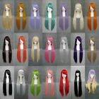 32in/ 80cm Heat Resistant Straight Long Cosplay Wig Free Shipping