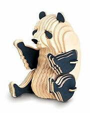 PANDA Woodcraft Construction Kit - Animal 3D Wooden Model For KIDS/ADULTS