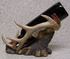 Wine Bottle Holder and/or Decorative Sculpture Animal Stag Antlers NIB