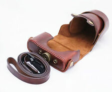 New Bag Classical Style PU Leather Camera Case For Nikon J1 J2 J3 J4 coffee