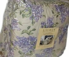 RALPH LAUREN Cape Elizabeth Lilac QUEEN COMFORTER SET NEW COTTON SATEEN