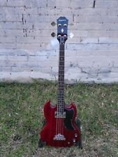 Epiphone EB-0 EB0 SG 4 String Electric Short Scale Bass Guitar #9823