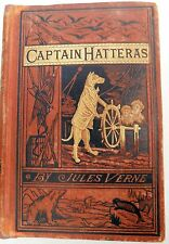 """Jules Verne 1st US Edition """"The Voyages & Adventures of Captain Hatteras"""""""