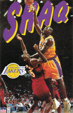 SHAQUILLE O'NEAL POSTERIZES DIKEMBE MUTOMBO LA Lakers 1997 Starline POSTER