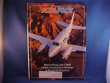 AOPA Pilot Magazine February 1992--Beech King Air C90B report, Ultralight update