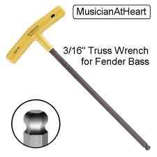 MusicianAtHeart HEAVY DUTY TRUSS ROD ALLEN WRENCH Fender Bass Guitar Tool