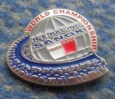 WORLD CHAMPIONSHIPS ICE SPEEDWAY POLAND SANOK  2011 PIN BADGE