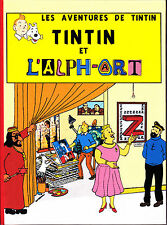 HOMMAGE A HERGE TINTIN ET L'ALPH'ART VERSION FAN2TINTIN