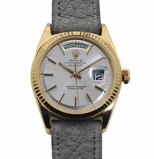 Vintage 1959 Rolex President Oyster Perpetual Date-Date reference 1803 18k Gold