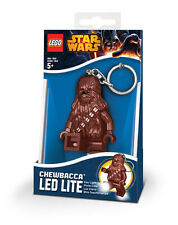 New! LEGO Star Wars CHEWBACCA Minifigure Keyring Keychain LED Light Torch