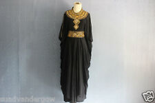 Dress Elegant Black Caftan Sequin Caftan Maxi Dresses Dubai Abaya Caftan Dress