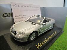 MERCEDES BENZ SL55 cabrioley gris au 1/43 YATMING 94243C voiture miniature