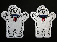 Stay Puft Marshmallow Man patch Villain Lot of 2 Iron or Sew On Patches