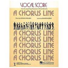 Chorus Line, A Vocal Score-ExLibrary