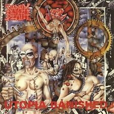 Utopia Banished by Napalm Death CD Metal Relativity Earache – 88561-1127-2 1992