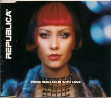 Republica From Rush Hour With Love UK CD Single