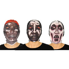 HALLOWEEN SCARY STOCKING FACE MASK TRICK OR TREAT DRESSUP FANCY DRESS ACCESSORY