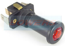 RED ILLUMINATED 12V 24V VOLT 16A UNIVERSAL ON/OFF LONG PUSH/PULL SWITCH
