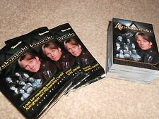 ANDROMEDA TRADING CARDS BASE SET SEASON 1 + 3 WAX PACK WRAPPERS