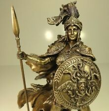 ATHENA GOD OF WISDOM WAR Bronze Statue warrior goddess