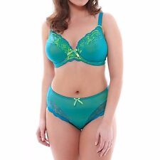 ELOMI ANUSHKA KINGFISHER UNDERWIRE PLUNGE BRA SIZE UK 36E / AU 14E NEW W/ TAGS