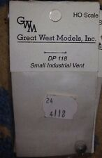 HO Great West Models Small Industrial Vent #DP 118  NIP