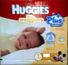 Huggies  LIttle snugglers  Nappies SIZE 1  -128  Pack