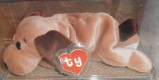 RARE! Authenticated TY 2nd gen Bones Beanie Baby 2nd gen hang / 1st gen tush