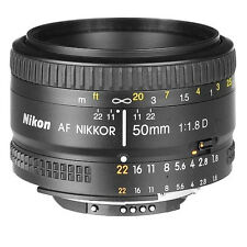 Nikon Nikkor 50 mm F/1.8 D AF  Lens for D7000 D5100 D5000 D3100 D700 D90