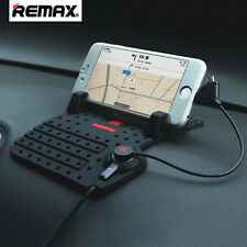 REMAX Car Stand Holder USB Fast Charging with Non-Slip Mat Pad For Mobile Phone