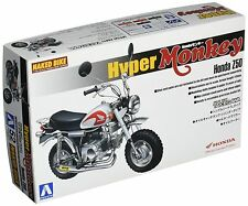 Aoshima Naked Bike 52 1/12 Honda Z50 Hyper Monkey Takegawa (45589) from Japan