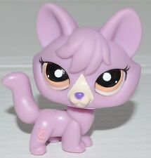 Littlest Pet Shop Lps 1536 Orange & Brown Eyes Lavender Fox