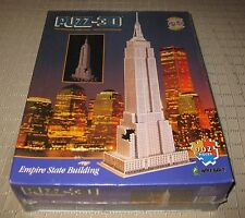 Wrebbit Puzz3D Empire State Building Sealed 1995 / 902 Pcs.  FREE SHIPPING