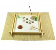 Large Zen Garden Bamboo Aragonite Sputniks Incense Holder Meditation Relaxation