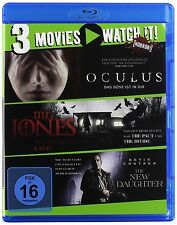 OCULUS/MR.JONES/THE NEW DAUGHTER BD   3 BLU-RAY NEU