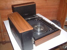 "Vintage Panasonic Model SG635 Battery or 110 AC, PORTABLE RECORD PLAYER ""WORKS"""