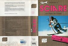 Come imparare a SCIARE (1988) VHS  Video Box  1a Ed. - Paolo De Chiesa Gattai